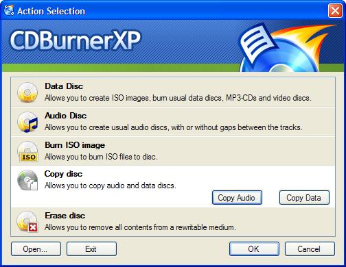 Cd BurnerXP Portable