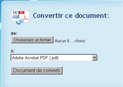 Doc2pdf
